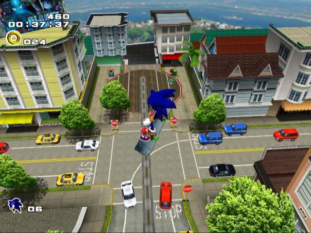 Sonic Adventure 2 Battle screenshot
