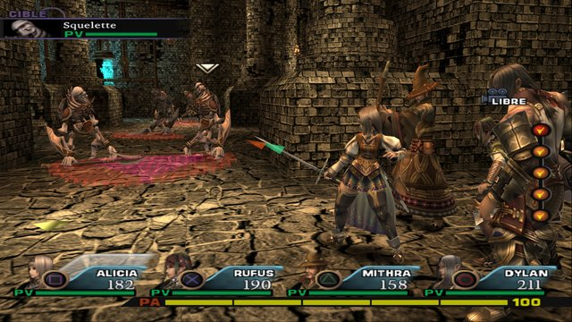 Valkyrie Profile 2: Silmeria screenshot