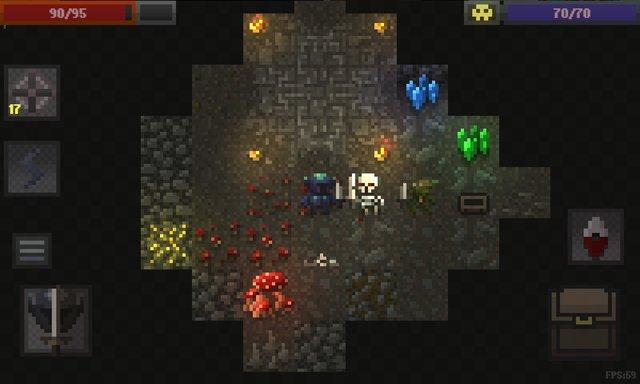 Caves (Roguelike) screenshot