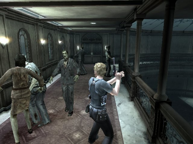 Resident Evil: Dead Aim screenshot