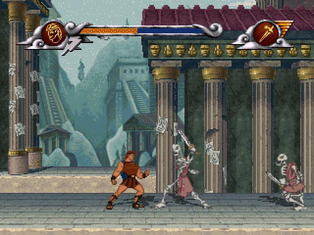 Disney's Hercules: The Action Game screenshot