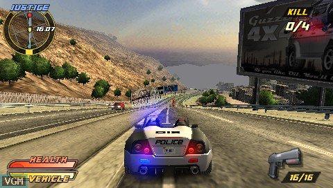 Pursuit Force Extreme Justice screenshot