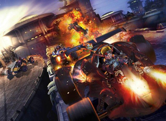 Jak X: Combat Racing screenshot