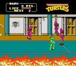 Teenage Mutant Ninja Turtles II: The Arcade Game screenshot