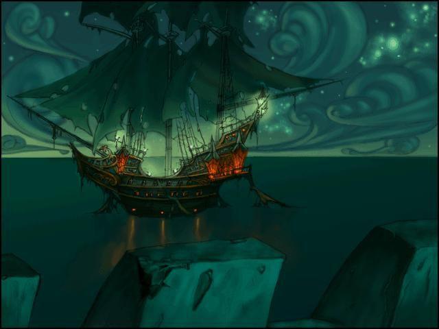 The Curse of Monkey Island screenshot