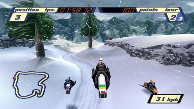 Sled Storm screenshot