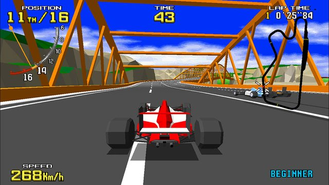 Virtua Racing screenshot