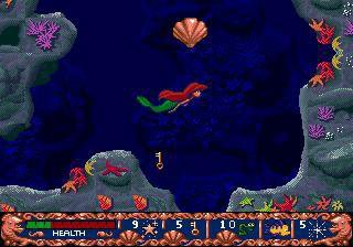 Disney's Ariel: The Little Mermaid screenshot