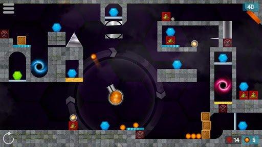 Hexasmash 2 - Physics Ball Shooter Puzzle screenshot