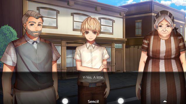 On Earth As It Is In Heaven - A Kinetic Novel screenshot