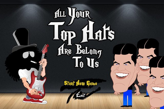All your top hats are belong to us screenshot