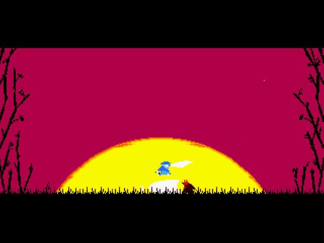 Samurai Gunn screenshot