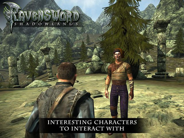 Ravensword: Shadowlands screenshot