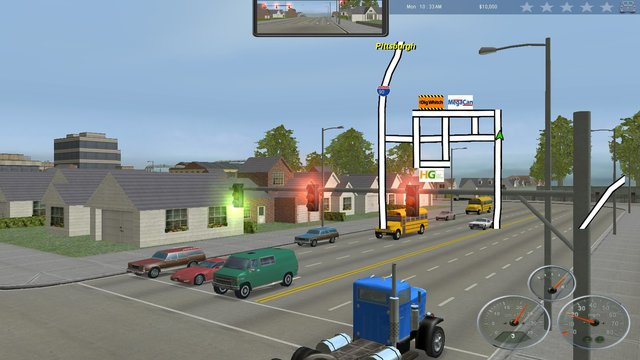 18 Wheels of Steel: Across America screenshot