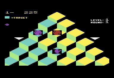 Q*bert screenshot