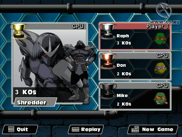 TMNT Mutant Melee screenshot
