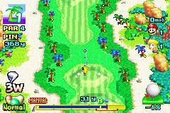 Mario Golf: Advance Tour (2004) screenshot