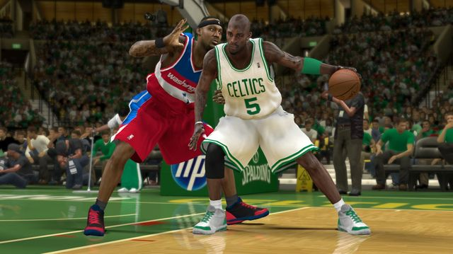 NBA 2K12 screenshot