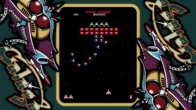 ARCADE GAME SERIES: GALAGA screenshot