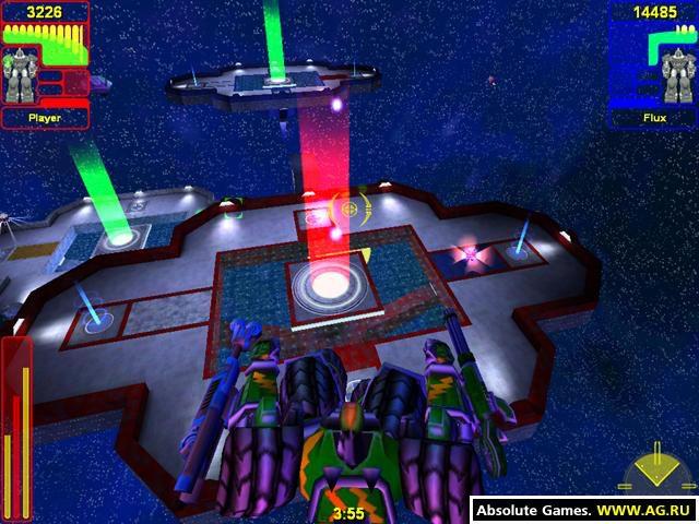 Tex Atomic's Big Bot Battles screenshot