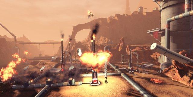 Trials Fusion: Rustlands screenshot