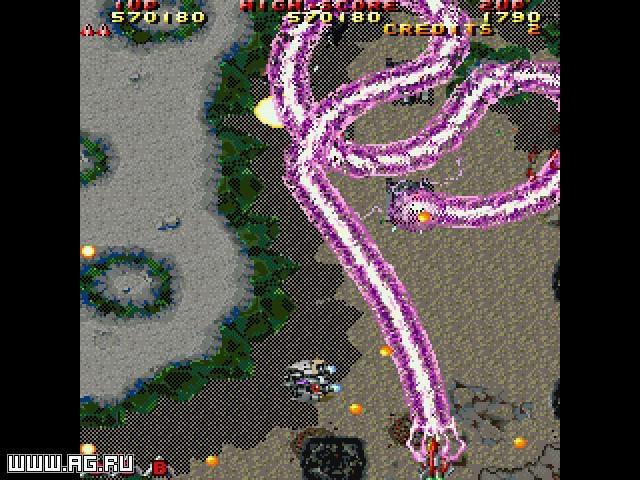Raiden 2 screenshot