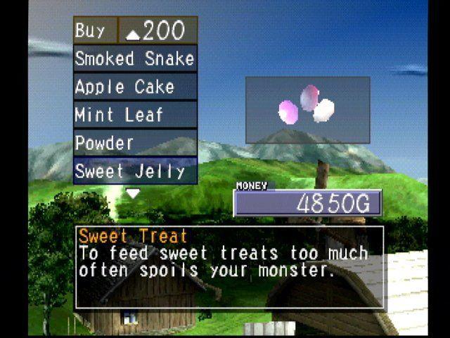 Monster Rancher 2 screenshot