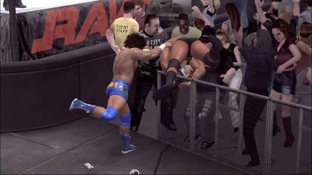 Smackdown vs RAW 2007 screenshot