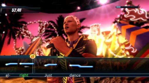 Karaoke Revolution screenshot