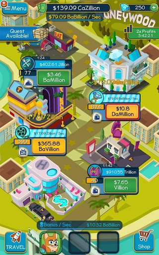 Taps to Riches screenshot
