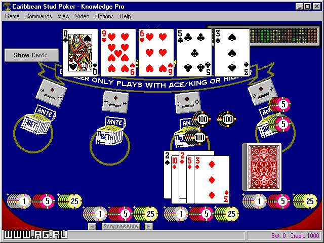 Caribbean Stud Poker Knowledge Pro screenshot