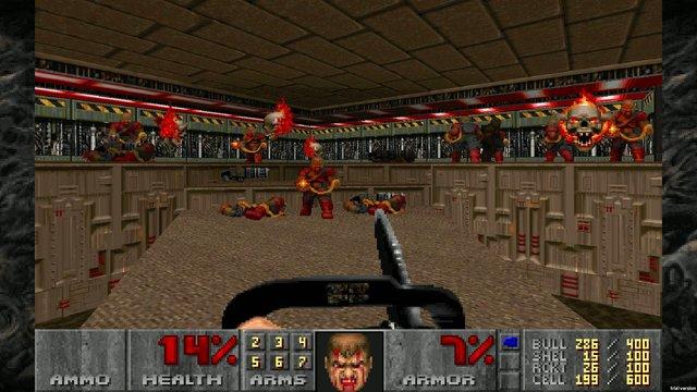 DOOM II (25th anniversary) screenshot