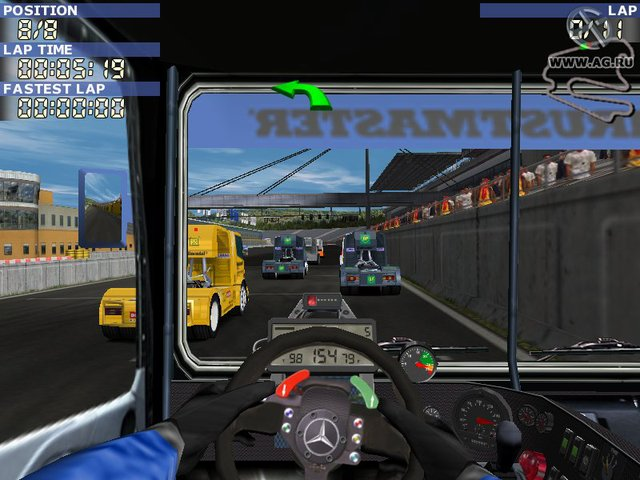 Mercedes-Benz Truck Racing screenshot