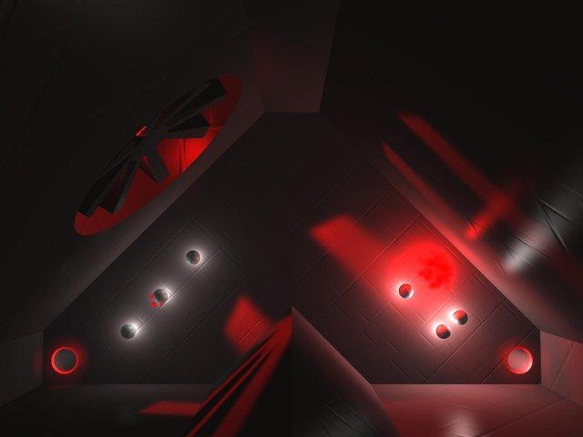 """Glow Ball"" - The billiard puzzle game screenshot"
