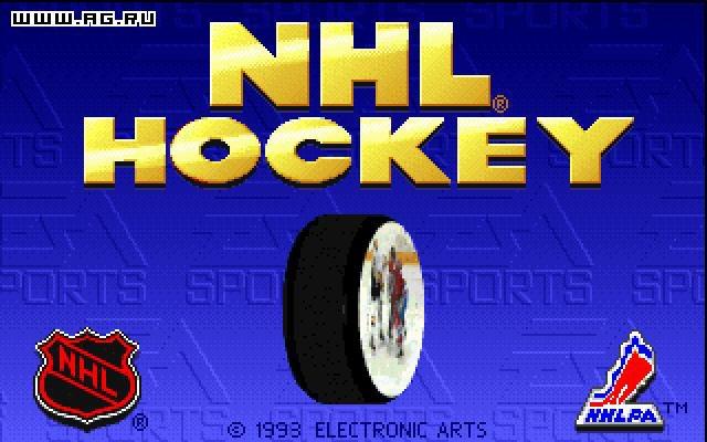 NHL Hockey screenshot