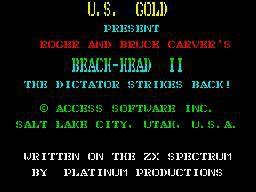 Beach Head II: The Dictator Strikes Back screenshot