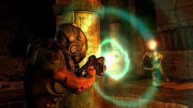 Doom 3 (2019) screenshot