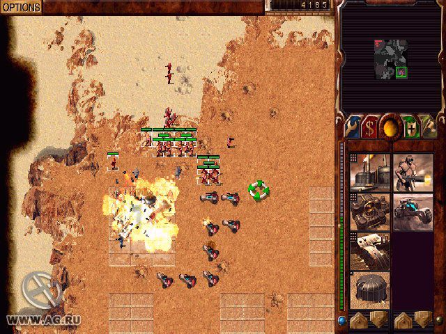 Dune 2000: Long Live the Fighters! screenshot