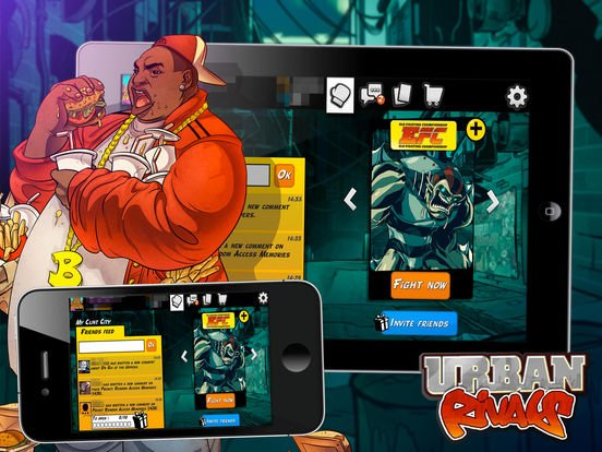 Urban Rivals screenshot