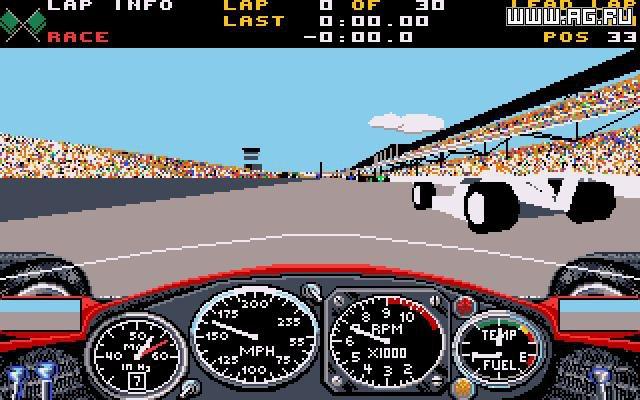 Indianapolis 500: The Simulation screenshot