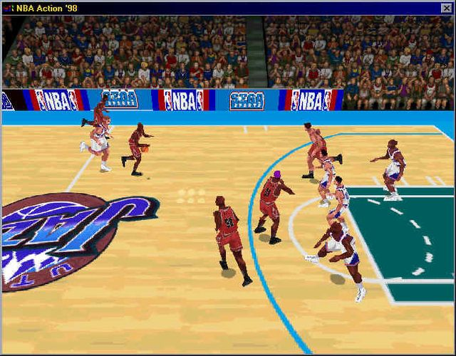 NBA Fastbreak '98 screenshot