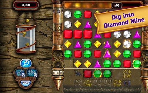 Bejeweled Classic screenshot