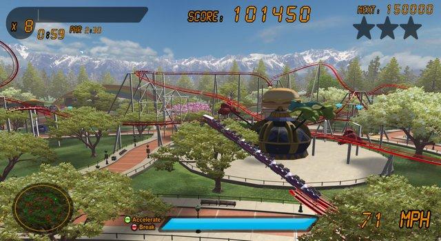 Roller Coaster Rampage screenshot
