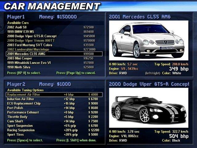 Performa Cars screenshot