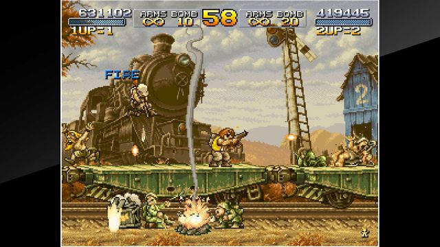 ACA NEOGEO METAL SLUG X screenshot