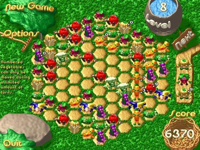 WildSnake Puzzle: Harvest Lines screenshot