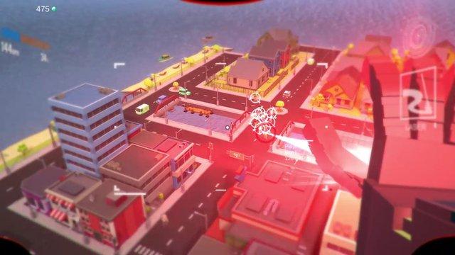 Block Robot Mini Survival Game screenshot