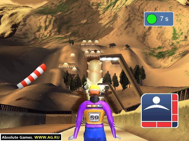 Ski-jump Challenge 2001 screenshot
