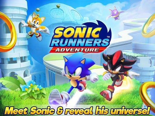 Sonic Runners Adventures - Новый раннер с Соником screenshot