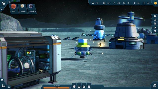 Earth Space Colonies screenshot